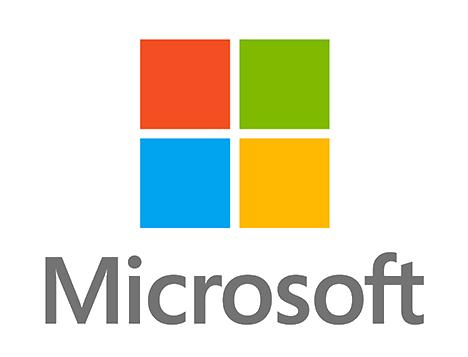 Microsoft logo transparent