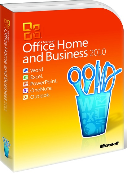 Microsoft Office 2010 Home and Business produkt
