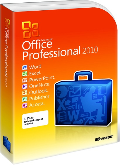Microsoft Office 2010 Professional produkt