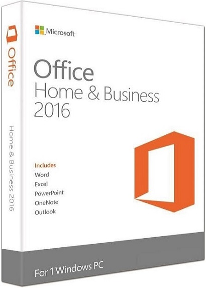 Microsoft Office 2016 Home and Business produkt