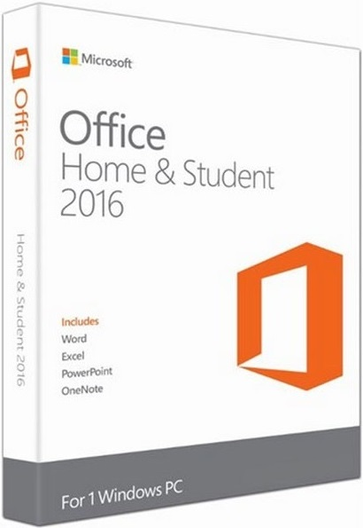 Microsoft Office 2016 Home & Student produkt