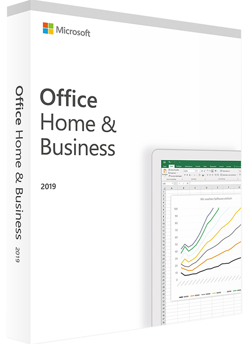 pakke med tekst office home & business