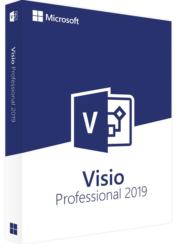 pakke med teksten visio professionel 2019
